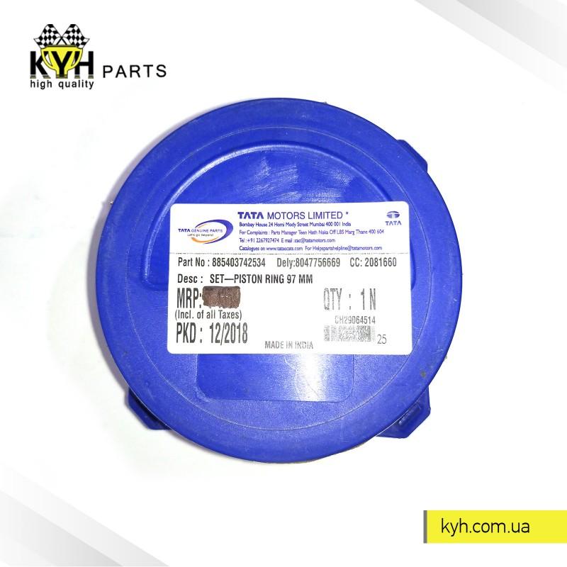 Кольца поршневые  Эталон Е-2 кт /узкие-пластик. упаковка/ TATA